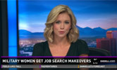 Military women get job search makeovers
