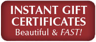 instant gift certificates