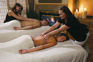 TallGrass Tango, side-by-side massage for couples