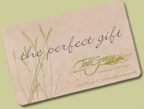 Need a gift idea for your spouse or partner, parents, friends, teachers or business associates? A gift certificate from TallGrass Aveda Spa and Salon is the answer!